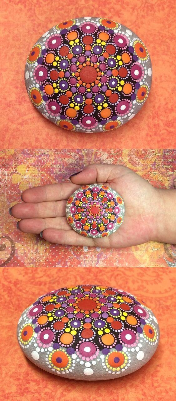 Mandala Stone Arts Etsy