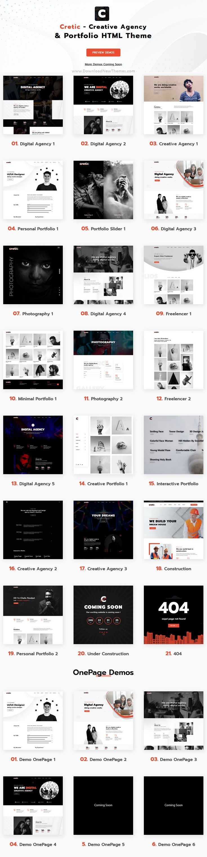 reative Agency Portfolio HTML Template