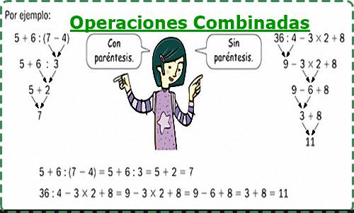 Operaciones Combinadas Con Números Enteros X Matemática Serie 23