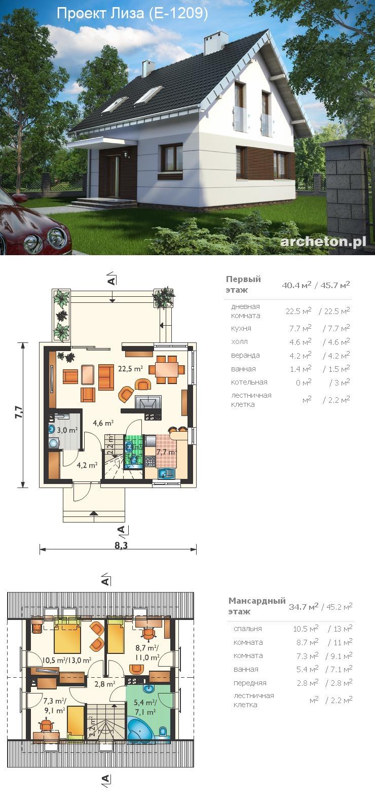 Проекты домов чертежи и фото