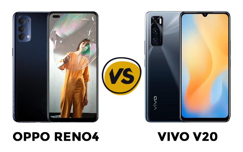 perbandingan oppo reno4 vs vivo v20