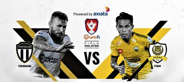 Terengganu VS Perak - Final Piala Malaysia 2018 [LIVE]