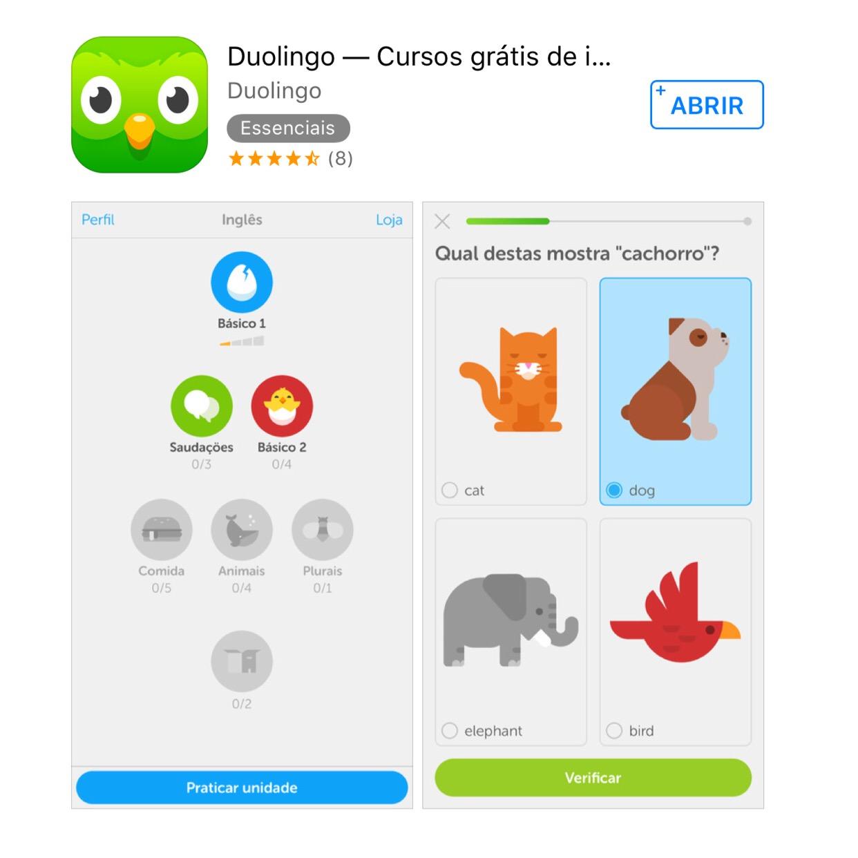 duoling - aplicativos, programas e sites gratuitos para aprender língua estrangeira sem pagar nada