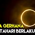 Berapa Kali Gerhana Matahari Berlaku Dalam Setahun ?
