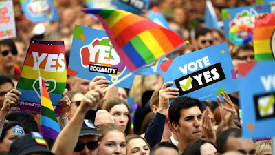 Australians have said a massive Yes to marriage equality