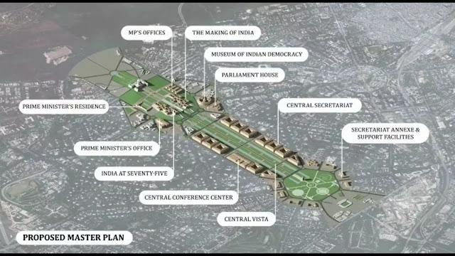 Central Vista - Proposed Master Plan