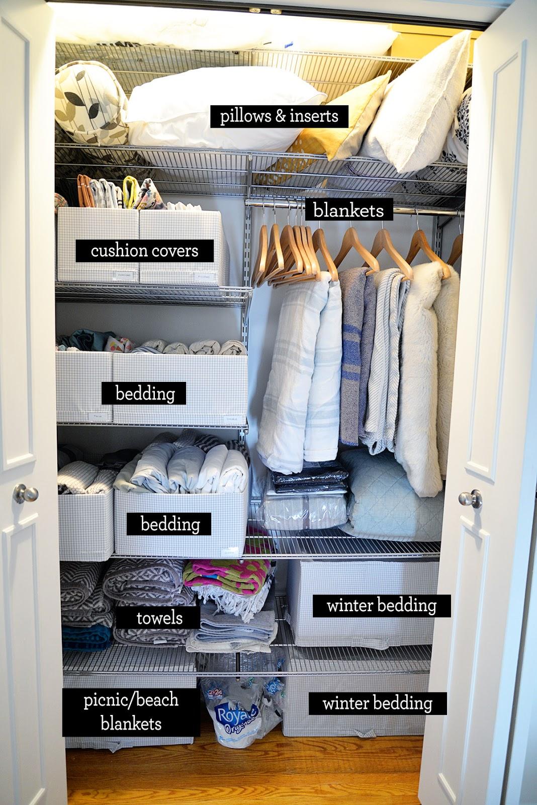 Linen Closet Organization Ideas   Rambling Renovators