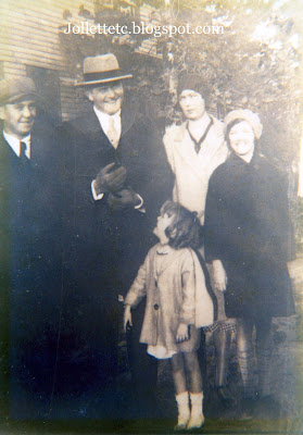 Clifton and Mae Holland family about 1932 https://jollettetc.blogspot.com