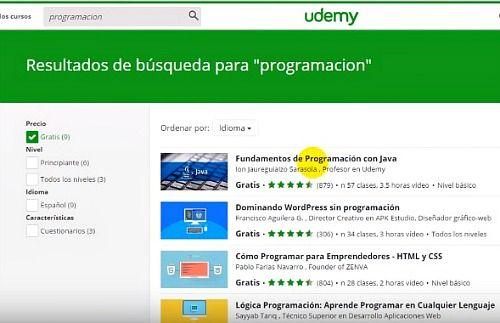 Udemy educación online para aprender más