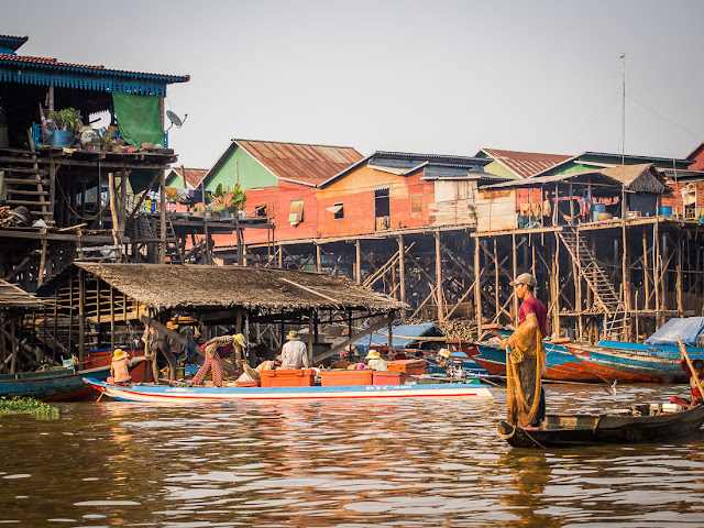 The floating market Siem Reap
