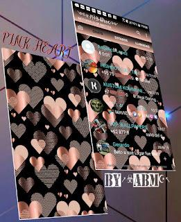 Pink Heart Theme For YOWhatsApp & Fouad WhatsApp By ABM