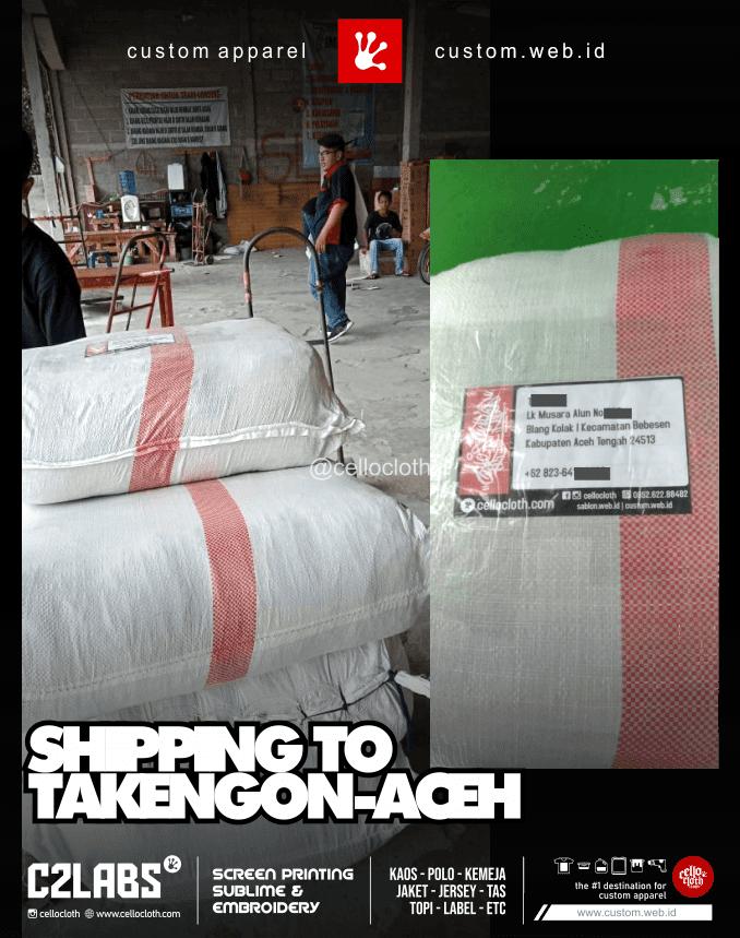 Kirim Paket Ke Takengon Aceh - CelloShipCC