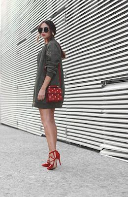 coleccion de zapatos rojos