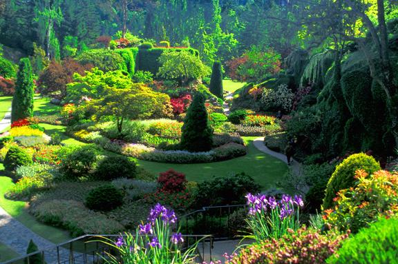 Secret Garden: The Best Garden: Butchart Gardens, British Colombia