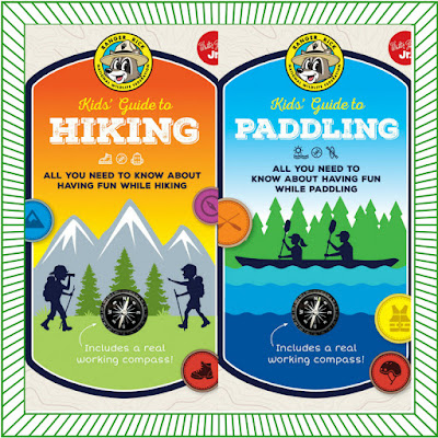 Ranger Rick Kids' Guide to Hiking & Ranger Rick Kids' Guide to Paddling  #RangerRickKidsGuide #RangerRick #NetGalley #Outdoors
