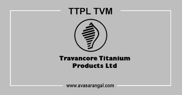 Travancore Titanium Recruitment 2020-80 Work Assistant & Other Vacancies