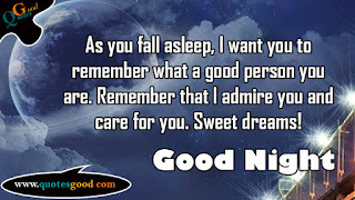good night pic with quotes