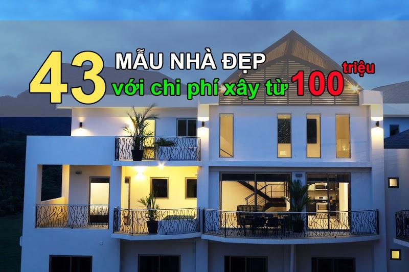 43 mẫu nhà đẹp MÊ HỒN với chi phí chỉ từ 100 triệu – Nhà đẹp không còn xa tầm với!
