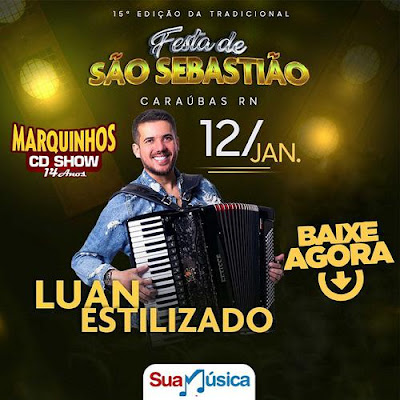 Luan Estilizado - Caraúbas - RN - Janeiro - 2020