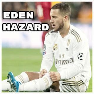 Eden Hazard del Real Madrid se rompe el Tobillo