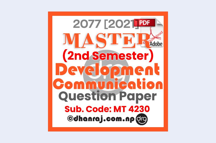 development-communication-mt4230-question-paper-internal-examination-2077-2021-shephard-college