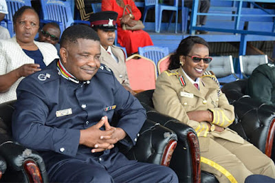 Machakos Police Boss in a past event.