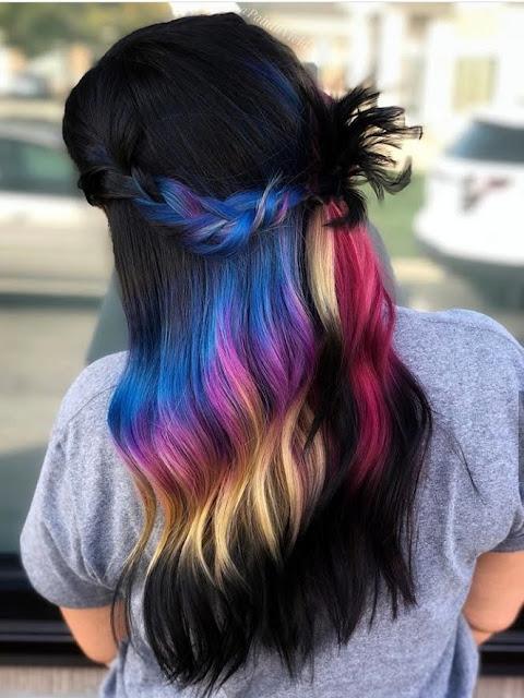 pelo de colores localizado 2020