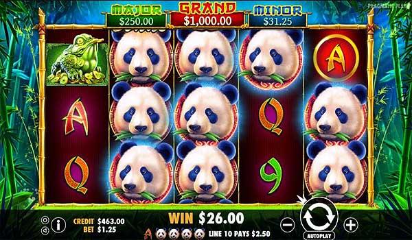 Main Gratis Slot Indonesia - Panda's Fortune (Pragmatic Play)