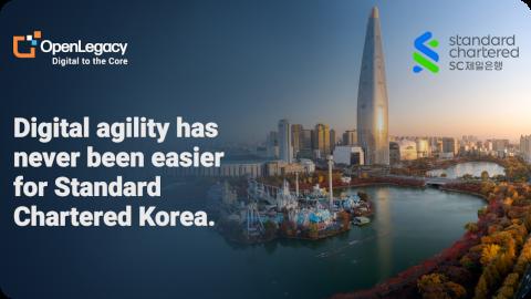 OpenLegacy + Standard Chartered Korea