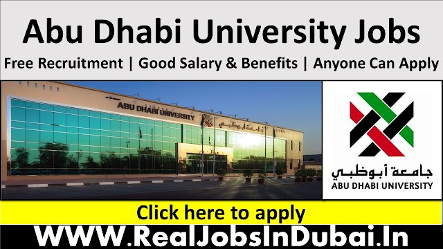Abu Dhabi University Jobs In UAE