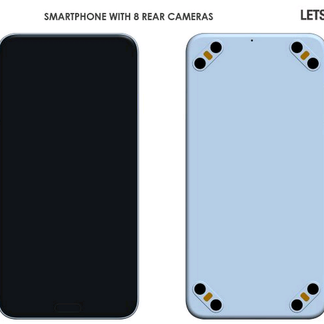 Leaked Photos of The World First Smartphone With 8 Cameras