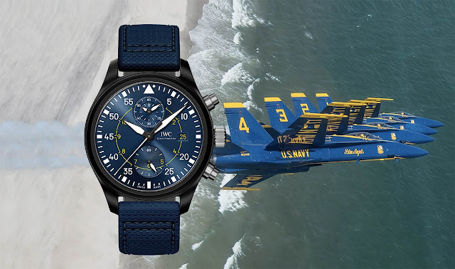 "IWC Pilot's Watch Chronograph Edition ""Blue Angels"" Ref. IW389008"