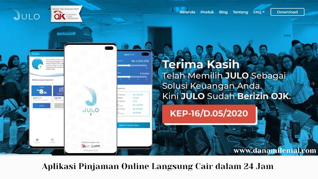 Aplikasi Pinjaman Online Langsung Cair dalam 24 Jam