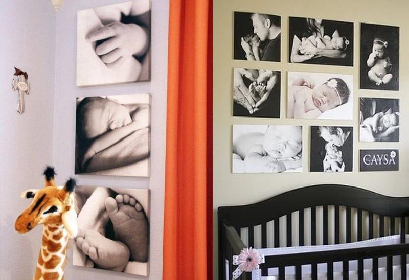 Decoração do Quarto do Bebê - Quadrinhos