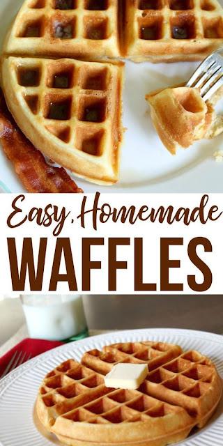 Perfect Homemade Waffle Recipe