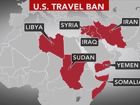 Which Country S Were Included In The Travel Ban