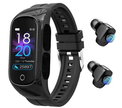 Cocobeir Earbuds with Microphone Smart Watch