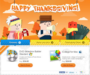 Wondershare Thanksgiving Giveaway