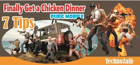 Tips for chicken dinner in PUBG mobile