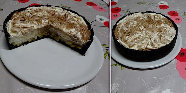 gâteau pâtisserie dessert cheesecake oréos bananes nutella