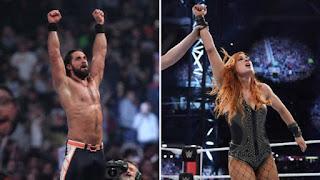 WWE - Rollins y Becky Lynch se ganan billete hacia WrestleMania en Royal Rumble. Nakamura y The Miz & Shane McMahon nuevos campeones