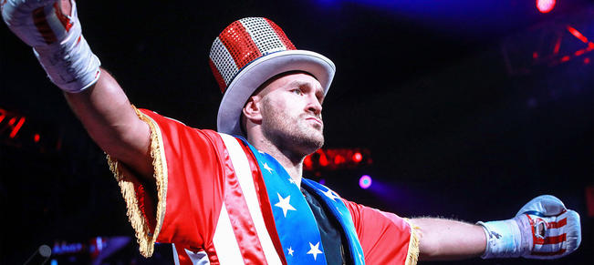 [Stories] Christian boxer motivated by prayer minutes before Las Vegas debut