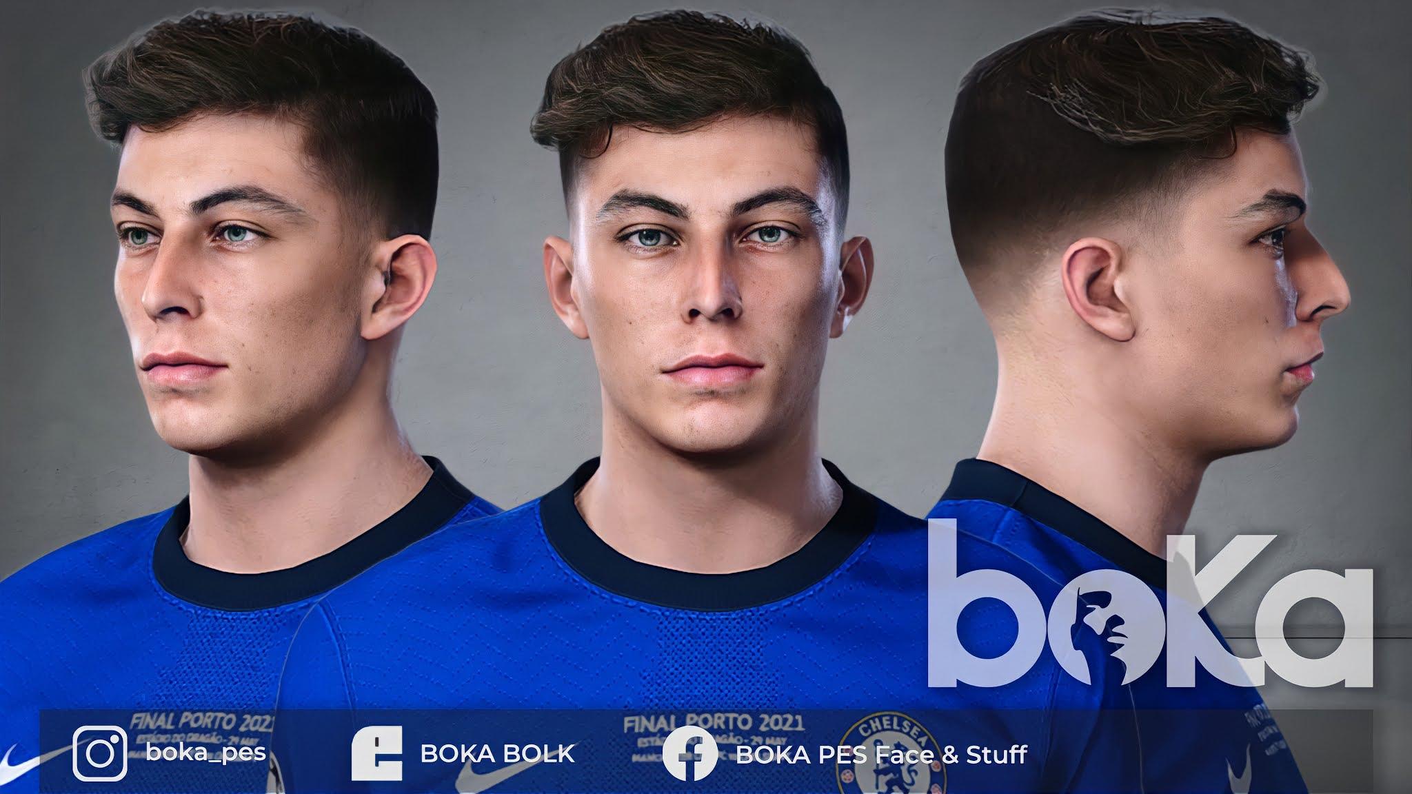 PES 2021 Kai Havertz Face by BOKA