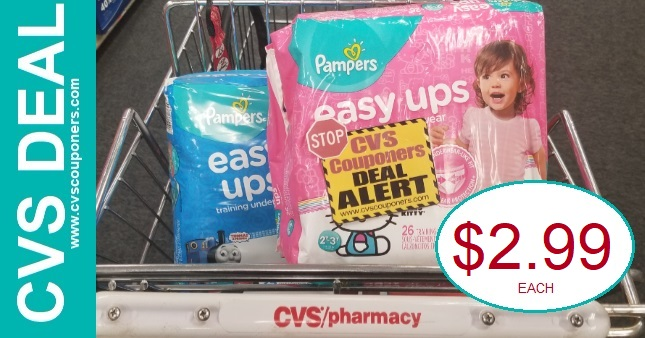 Pampers CVS Coupon Deal $2.99 3-1-3-7