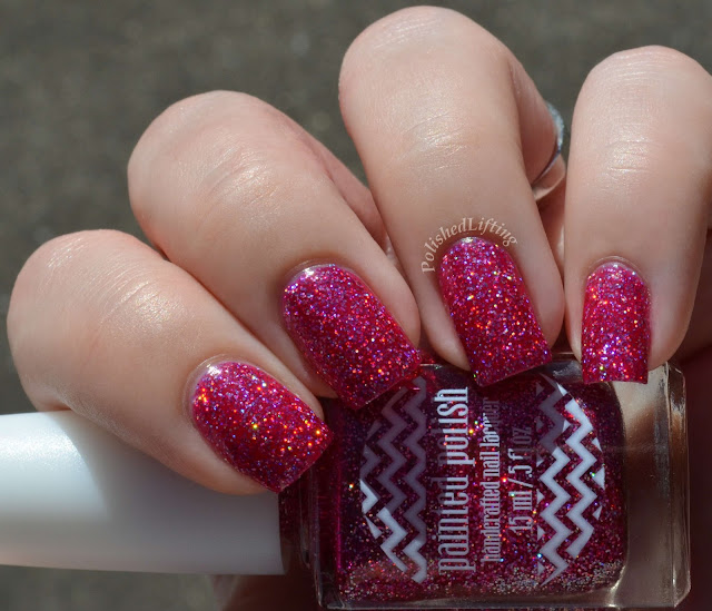 Painted Polish Frisky in Fuchsia