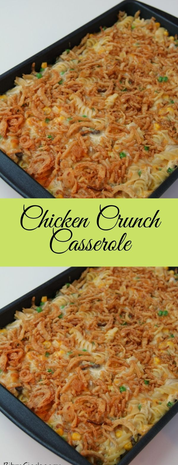 Chicken Crunch Casserole