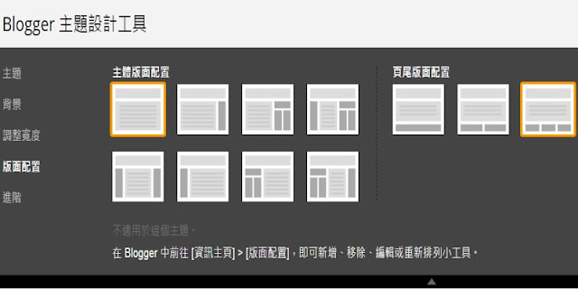 blogger-custom-layout-Blogger 版面配置切割任意欄位的技巧﹍方便安裝小工具