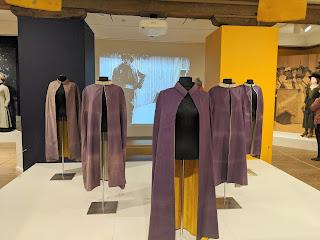 purple suffragette capes
