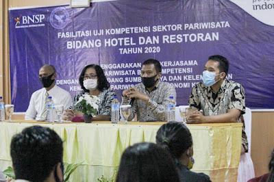 Lombok Barat Gelar Uji Kompetensi Pekerja Pariwisata