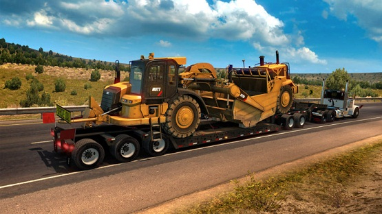 American Truck Simulator Heavy Cargo Pack Game Free Download